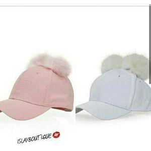 Accessories - Pom pom dad hat